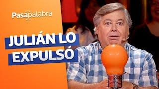 ¡FUERA BELLONI! 😱 Julián expulsó a Ernesto del programa - Pasapalabra