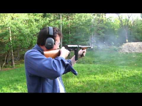 Part 2  Rare  United Defense M42 or UD-42 submachine gun
