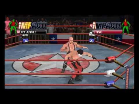 Tna Impact Cross The Line Psp Gameplay Hd 1080p Youtube