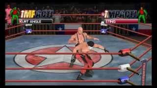 TNA iMPACT! Cross The Line PSP Gameplay [HD 1080p]