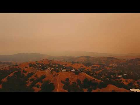 Fires from Marin County