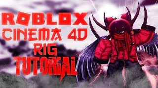 TUTORIAL How to make your Roblox Rig for Cinema 4D-Part 1-ROBLOX