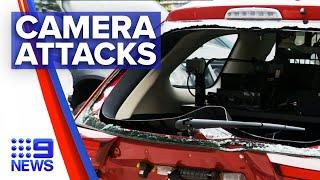 Increased attacks on mobile speed camera operators | 9 News Australia
