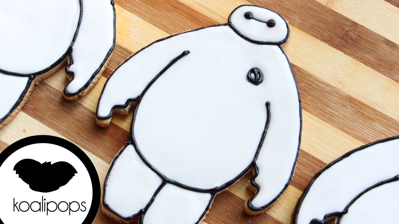 Disney S Big Hero 6 Baymax Cookie How To Youtube