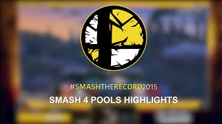 Smash The Record 2015 - Smash 4 Pools HIghlights!