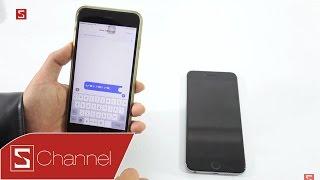 Schannel - Đoạn tin nhắn này sẽ khiến mọi iPhone treo cứng khi nhận được!!!