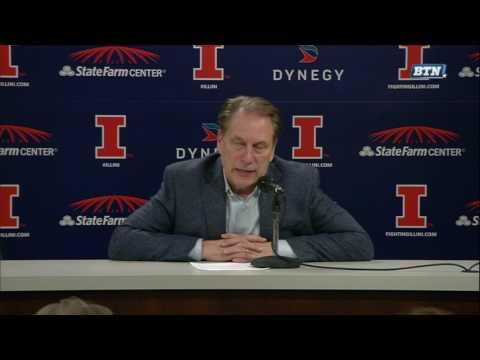 Tom Izzo Postgame Presser vs. Illinois