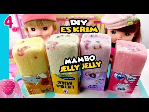 #4 Es Krim Mambo Jelly Jelly Yupi, Susu Indomilk Mangga, Ultramilk Baru - Cooking TIme GoDuplo TV