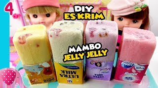 #4 Es Krim Mambo Jelly Jelly Yupi, Susu Indomilk Mangga, Ultramilk Baru - Cooking TIme GoDuplo TV