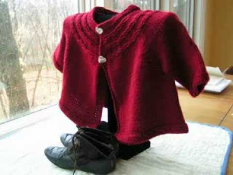 22d44755908b Seamless Yoked Baby Sweater Free Pattern - YouTube