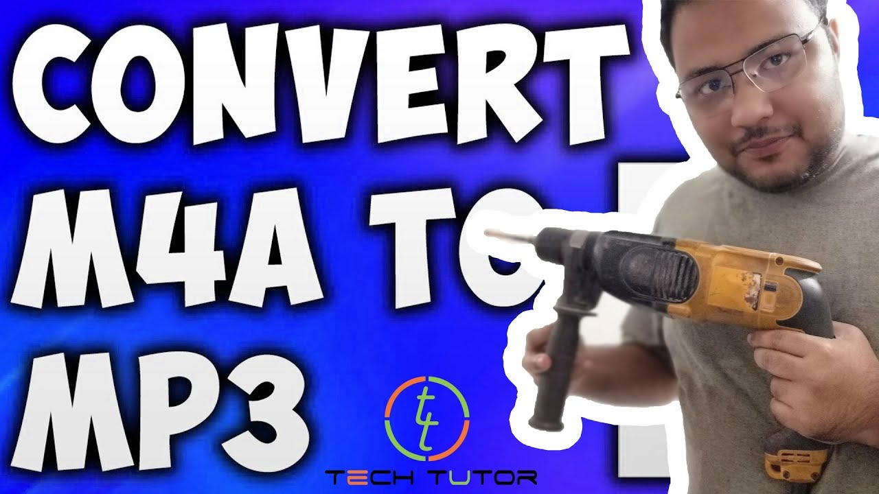 How To Convert M4A TO MP3 format using VLC media player Best M4A TO MP3  Converter #Tech_Tutor