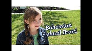 Bohemian Fishtail Braid | Long Hair | Cute Girls Hairstyles