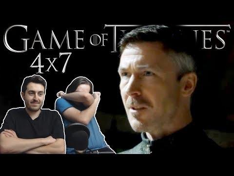 Game Of Thrones Season 4 Episode 7 REACTION