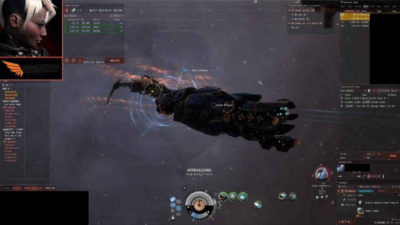 Combat in EVE Online