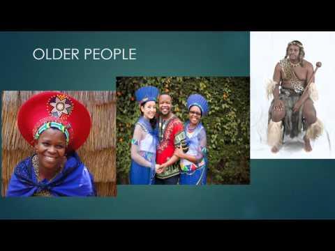 South African zulu and xhosa attire