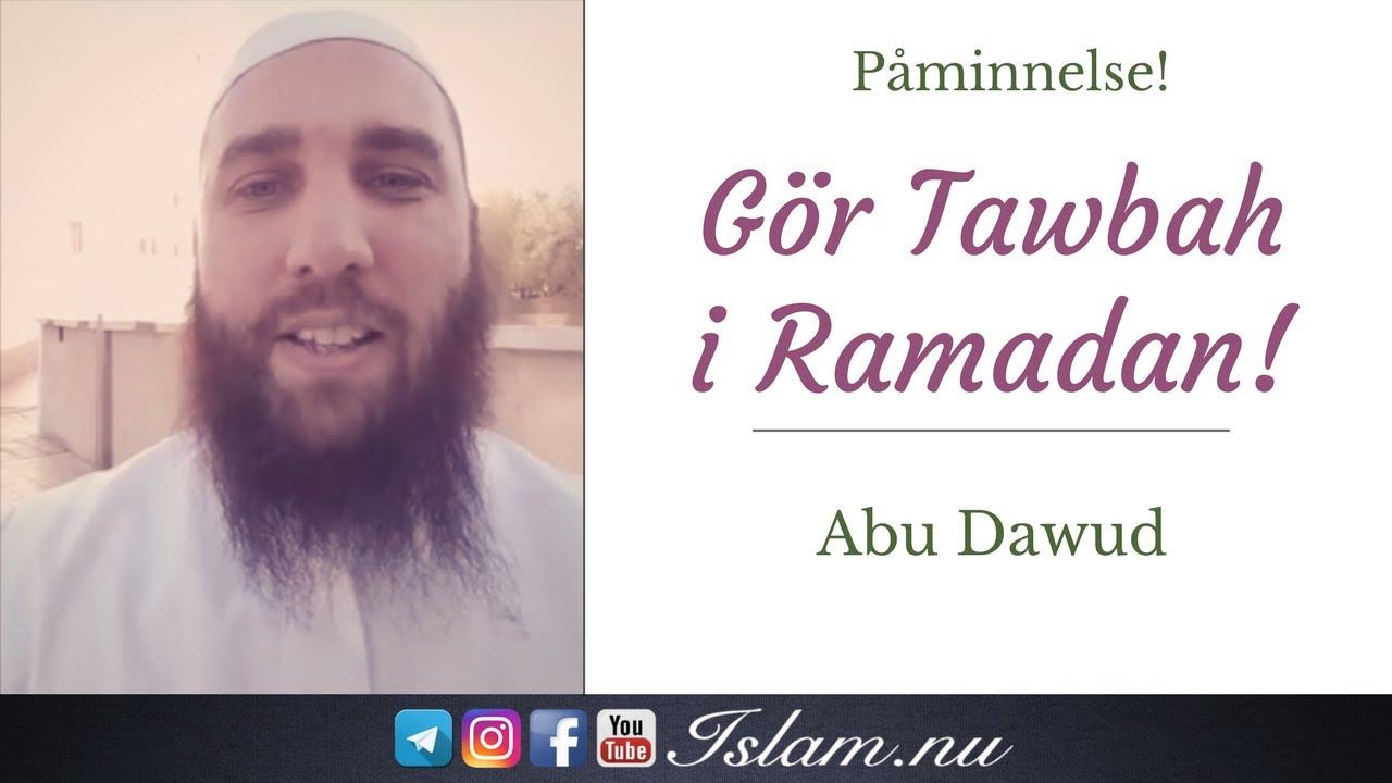 Gör Tawbah (ånger) i Ramadan! | Abdullah as-Sueidi