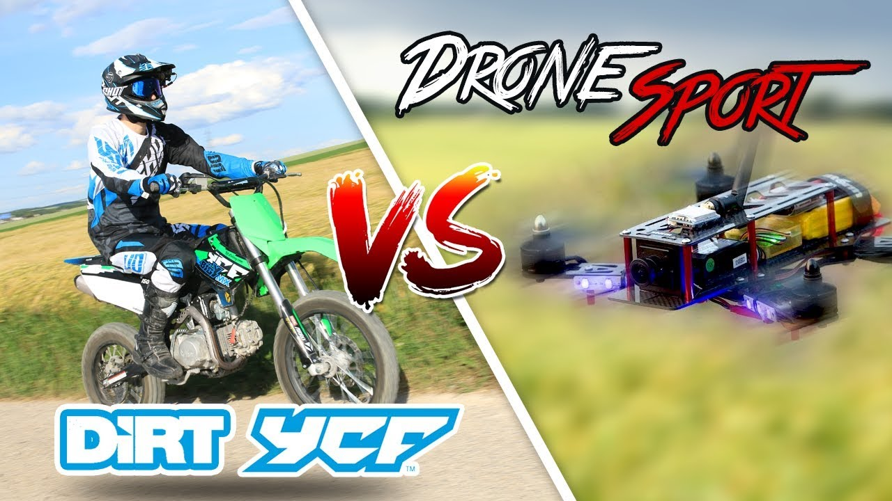 DIRT YCF 150 MX VS DRONE Sport - 🏁