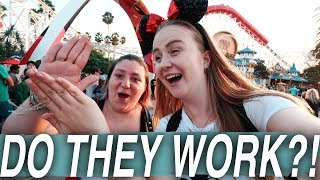 TESTING out DISNEYLAND HACKS