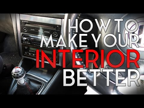 How To Make The Interior Of Your Car Look Better!