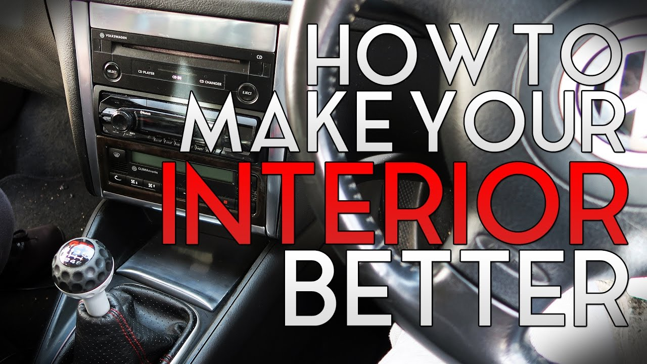 How To Make The Interior Of Your Car Look Better