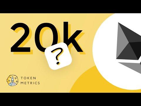 Ethereum (ETH) to $20K? Ethereum Price Prediction and Technical Analysis | Token Metrics AMA