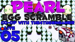 Pokémon Pearl Egg Scramble Co-Op LIVE w/ @The4thGenGamer - Episode 5 ~ Frustration!