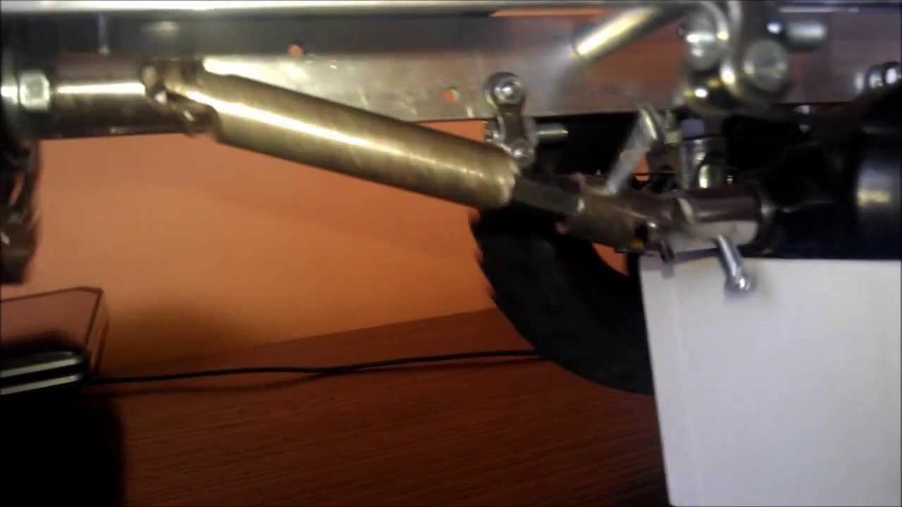 Rc Crawler Homemade Steel Drive Shaft Test Youtube