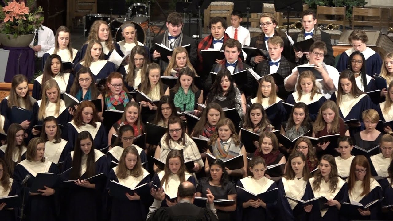 Catholic Central High School Christmas Concert 2017 Youtube