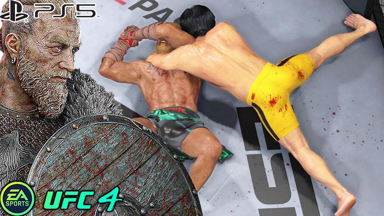 UFC 4 | Bruce Lee VS Viking |  PS5