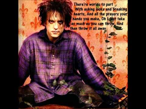 The Cure- A letter to Elise with lyrics