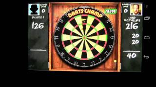 Darts Champ! FREE Android App Review - CrazyMikesapps