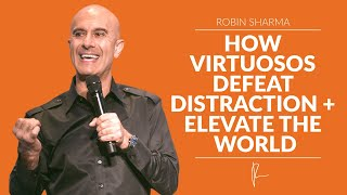 One of Robin Sharma's most recent videos: