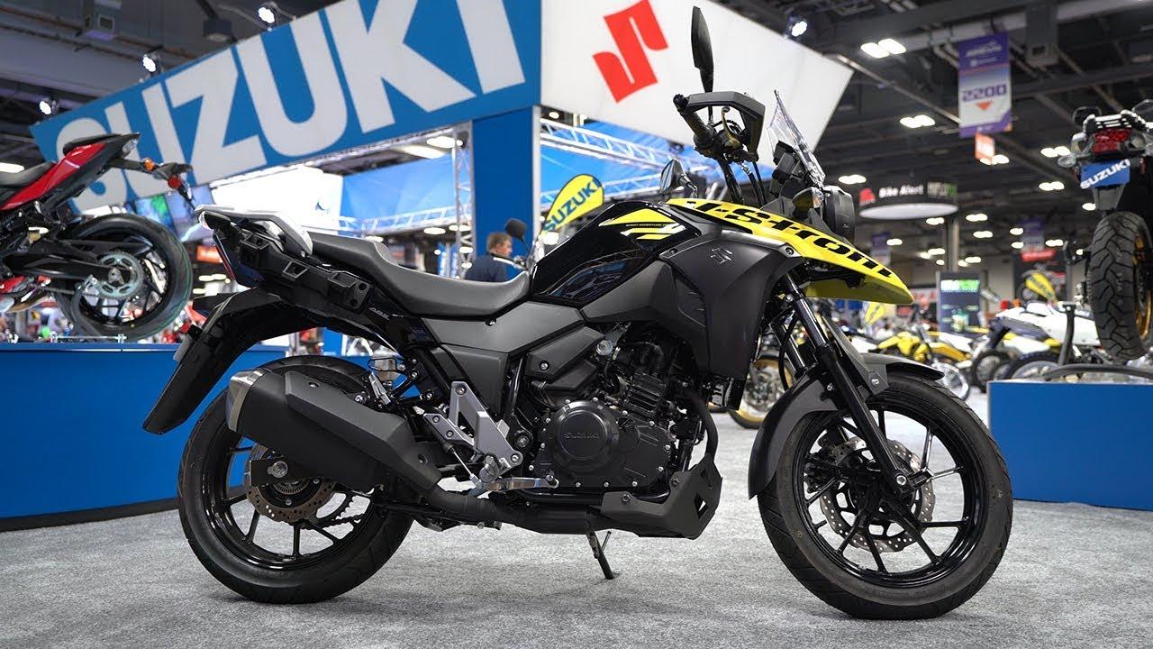 2018 Suzuki V-Strom 250 - AIMExpo 2017 | 4K