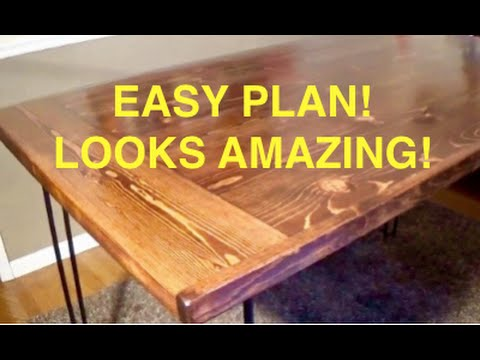 build kitchen table steel island how to a farmhouse complete and easy plan youtube