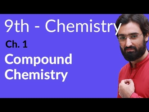 Matric part 1 Chemistry, Compound Chemistry - Ch 1 - 9th Class Chemistry