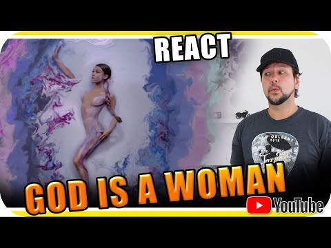 Ariana Grande  GOD IS A WOMAN  Marcio Guerra Reagindo React Reação  Amino