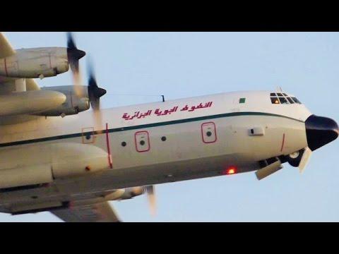 [FullHD] Air Algérie Cargo Lockheed C-130 Hercules landing & takeoff at Geneva/GVA/LSGG