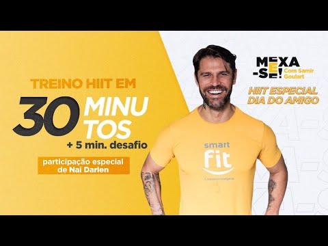 HIIT Especial Dia do Amigo - 30 min. + 5 min. de desafio | Mexa-se com Samir Goulart