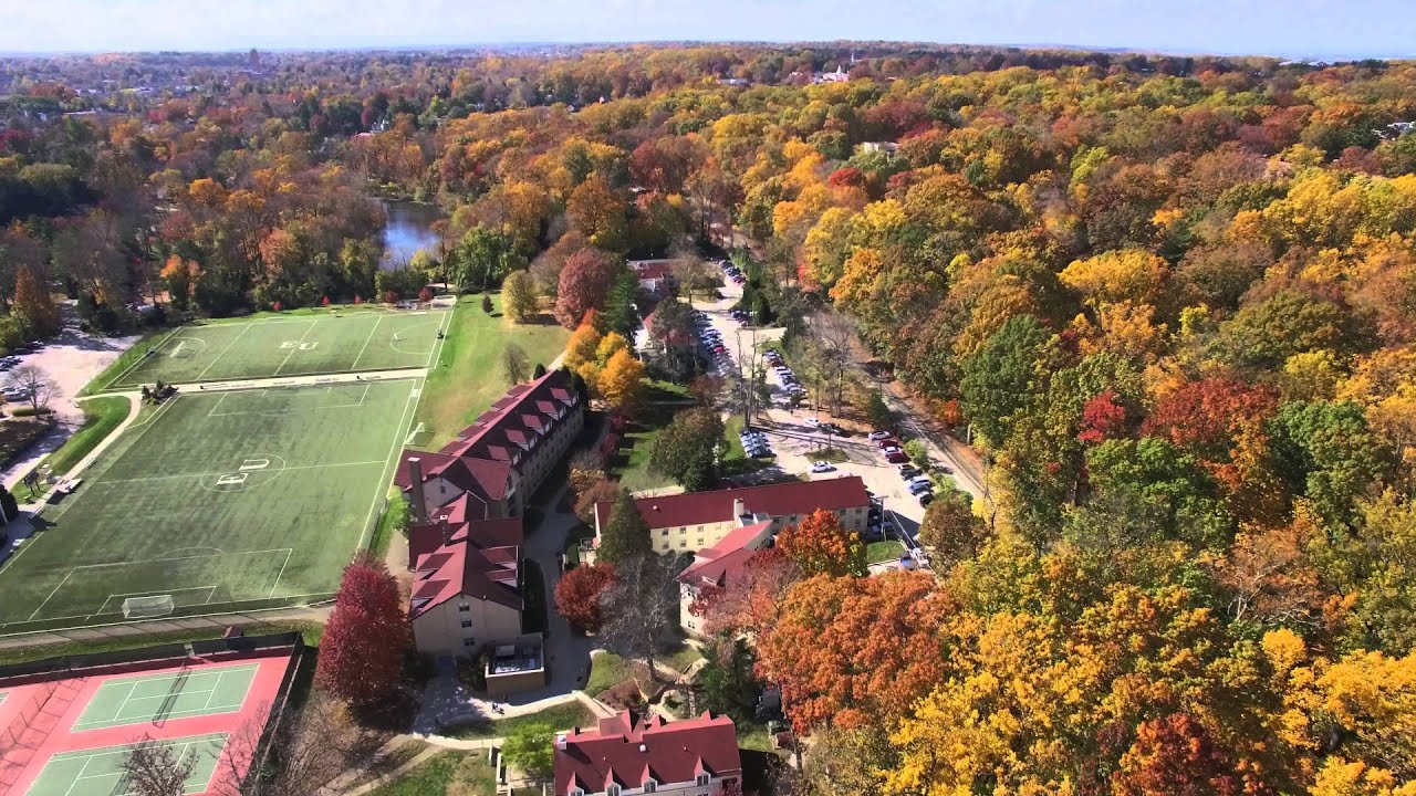 Eastern University Campus In Autumn (Drone Video) - YouTube