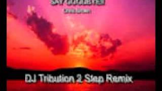 UK GARAGE: Chris Brown- SAY GOODBYE!! (DJ Tribution 2step remix)