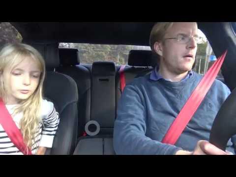 [4k] Daughter's REVIEW of Audi S8 Plus Matte Florett Silver Audi Exclusive in Swedish