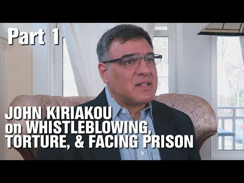 Interview w CIA Whistleblower John Kiriakou Pt 1-Torture, Prison