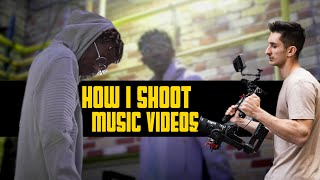 How I shoot RAP - HIPHOP Music Videos! | RoyalZProduction (4k)