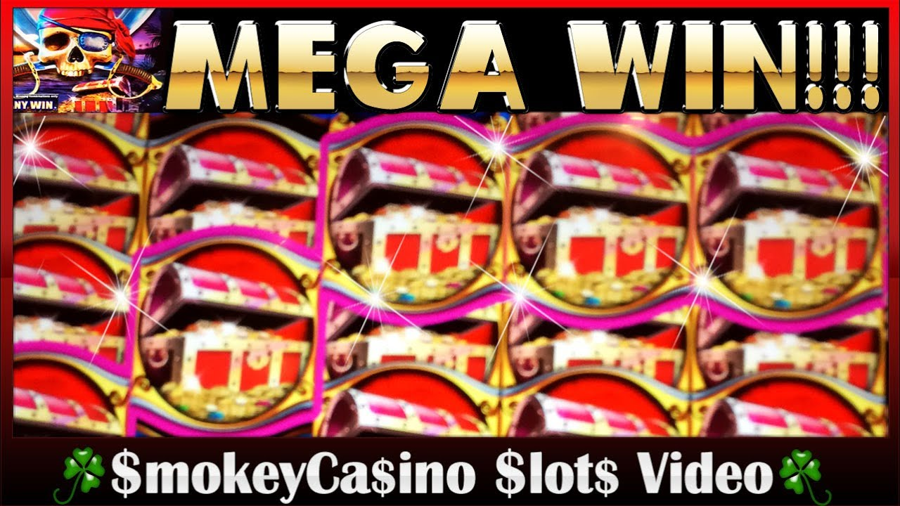 Pirate Ship Slot Machine Mega Win Bonus Wms Game Chest