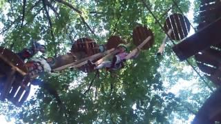 Опять в Веревочный парк SkyPark на выставке