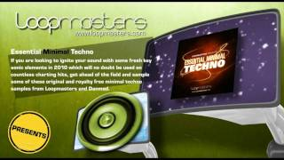 Essential Minimal Techno Samples and Royalty Free Producer Sounds by Loopmasters