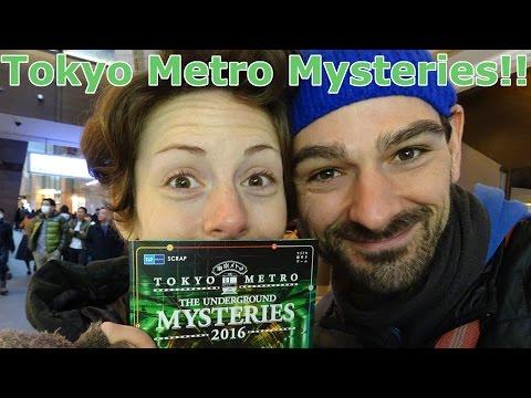 "Tokyo Metro: The Underground Mysteries ""Scavenger Hunt"" 2016   東京メトロ地下謎2016"