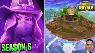 SEASON 6! WHAT'S NEW!! Fortnite Battle Royale