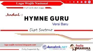 Hymne Guru (Versi Baru) Ciptaan Sartono