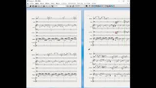 先の「明日」の書き換えたものです。音もシベリウスソフトの音源で、ファゴットの音色が少し開いたような感じですが、チェロのところは先のAG10よりはましかなと。伴奏用を ...